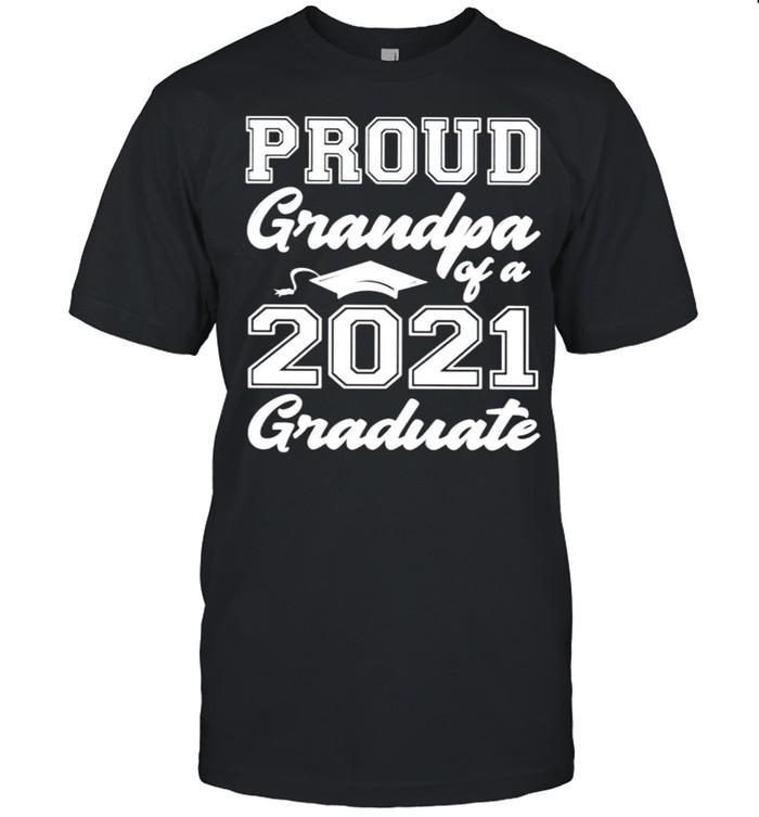 Proud grandpa of a 2021 graduate shirt