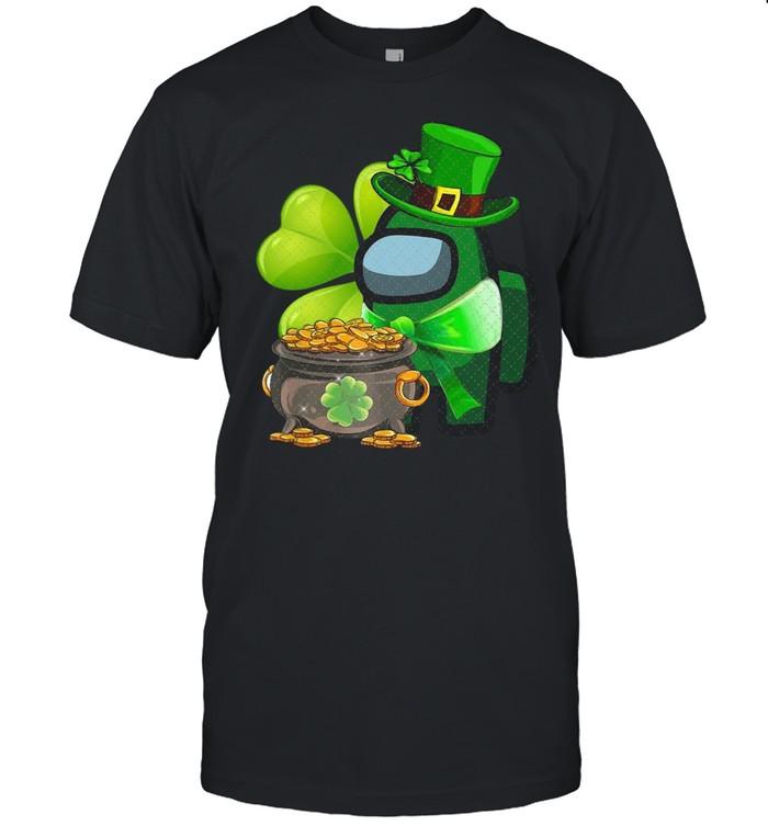Among Us St Patrick's Day 2021 Shamrock Lucky shirt