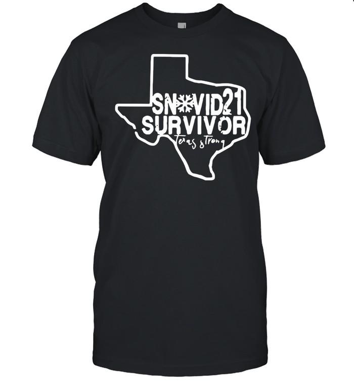Snovid 2021 Survivor Texas Strong shirt
