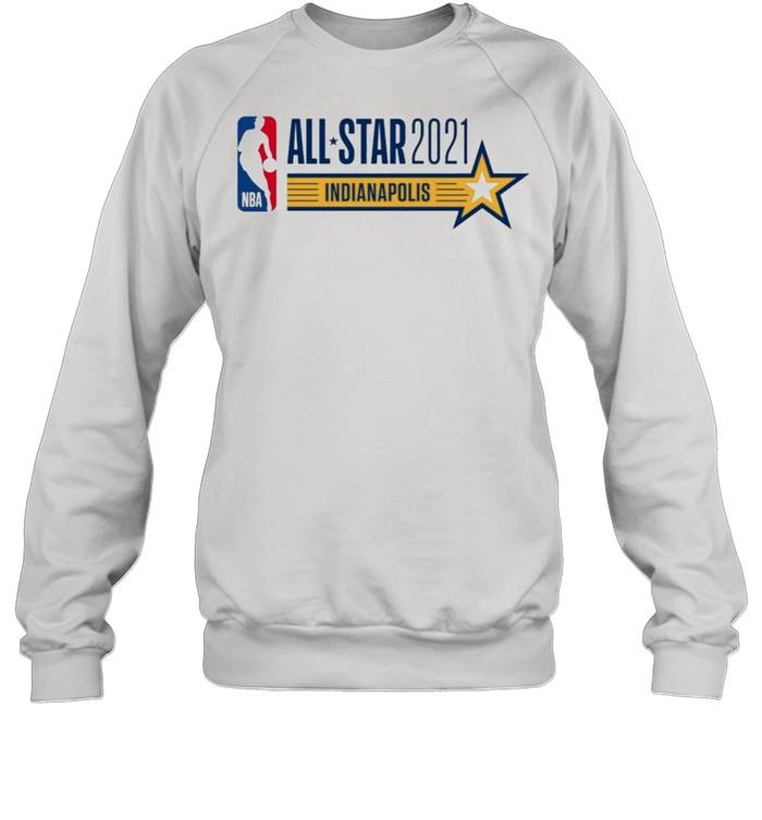All Star Game Indianapolis 2021 Fan American Basketball shirt Unisex Sweatshirt