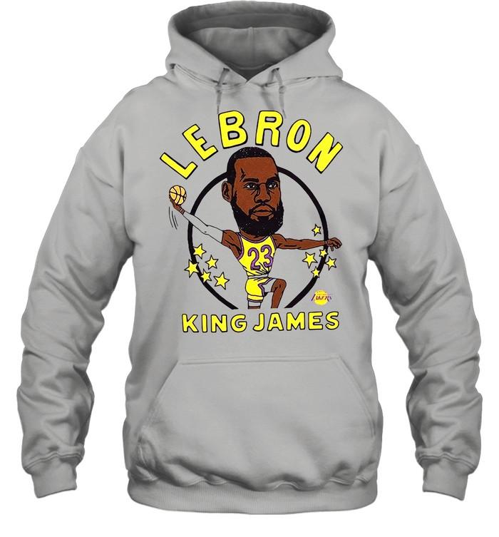 Los Angeles Lakers Lebron King James shirt Unisex Hoodie