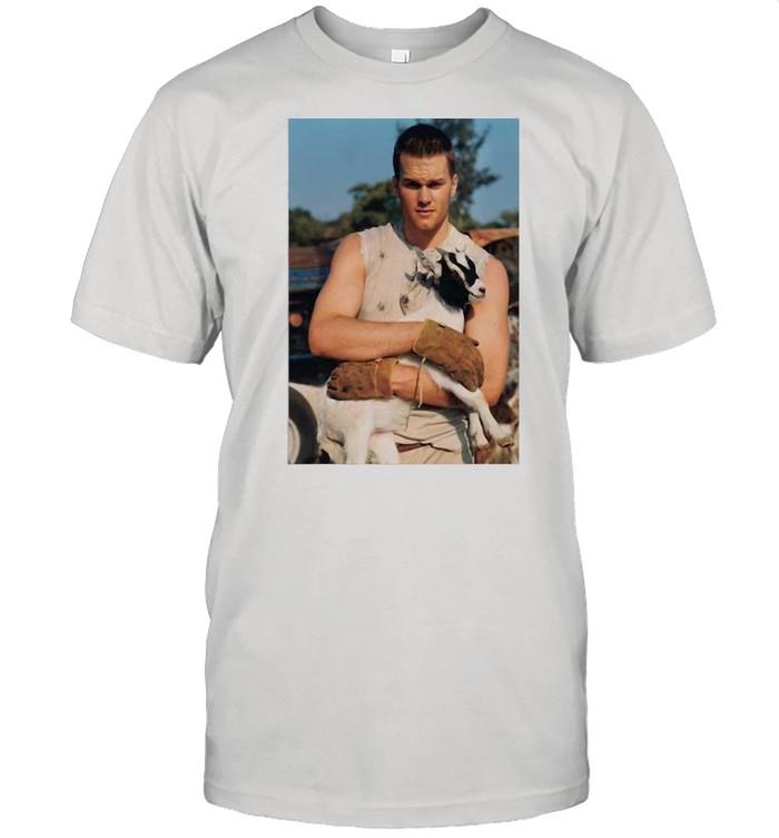 Tom Brady Goat shirt