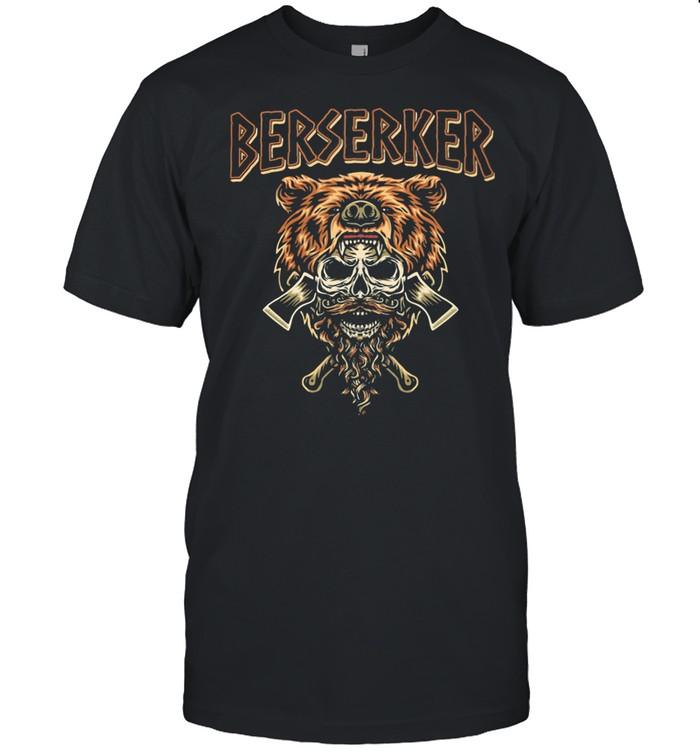 Berserker Bear Skull shirt