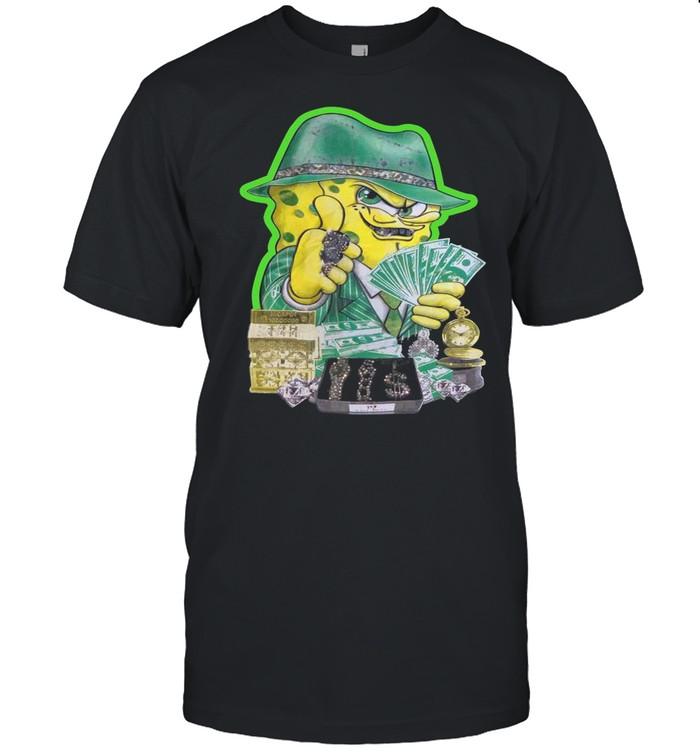 Creamcloset Merch Gangster Spongebob Bling 2000s Shirt