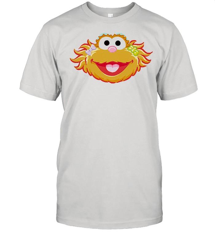 Street elmo cookie monster shirt