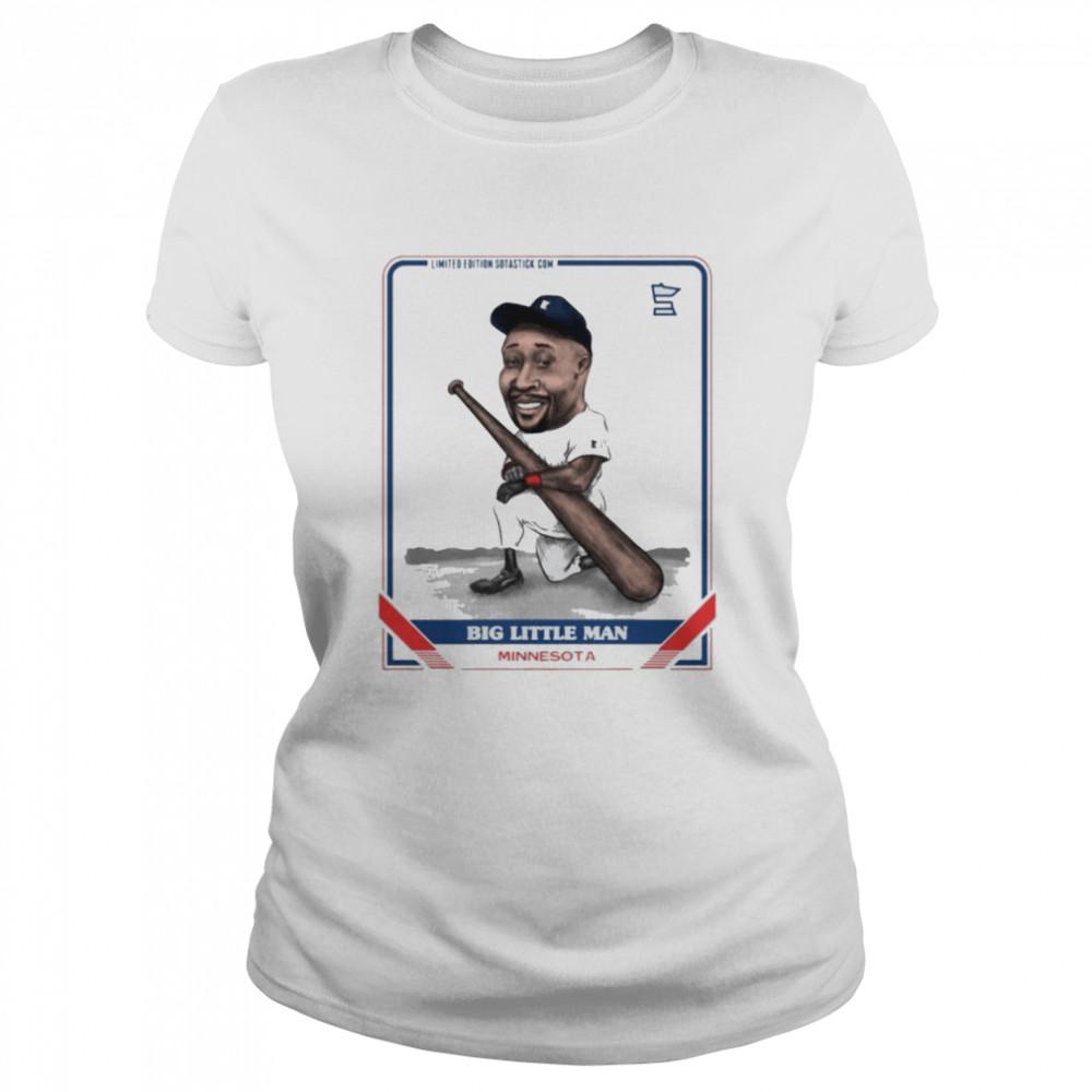Big little man Minnesota shirt Classic Women's T-shirt