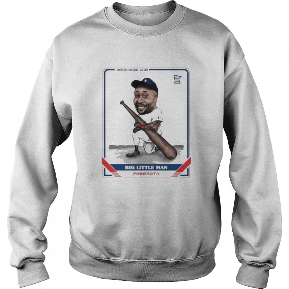 Big little man Minnesota shirt Unisex Sweatshirt
