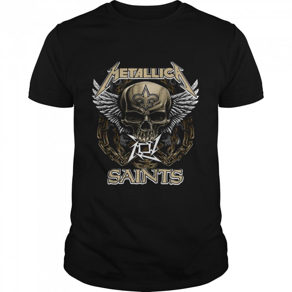 skull metallica saints shirt