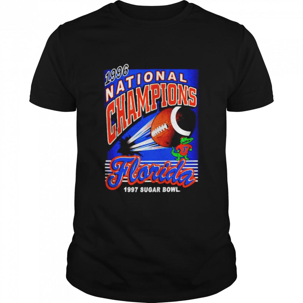 Florida Gators 1996 national champions florida 1997 sugar bowl shirt