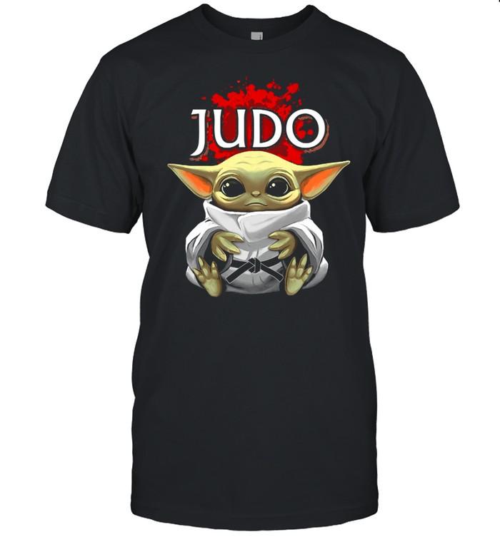 Baby Yoda And Judo In Japan shirt