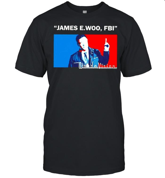 James EWoo FBI Wandavision shirt