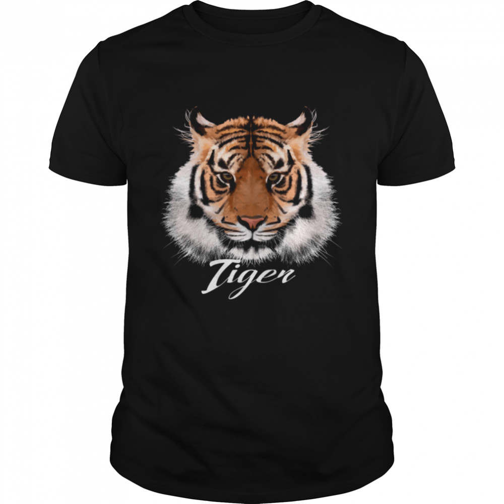 Adorable Tiger Face shirt