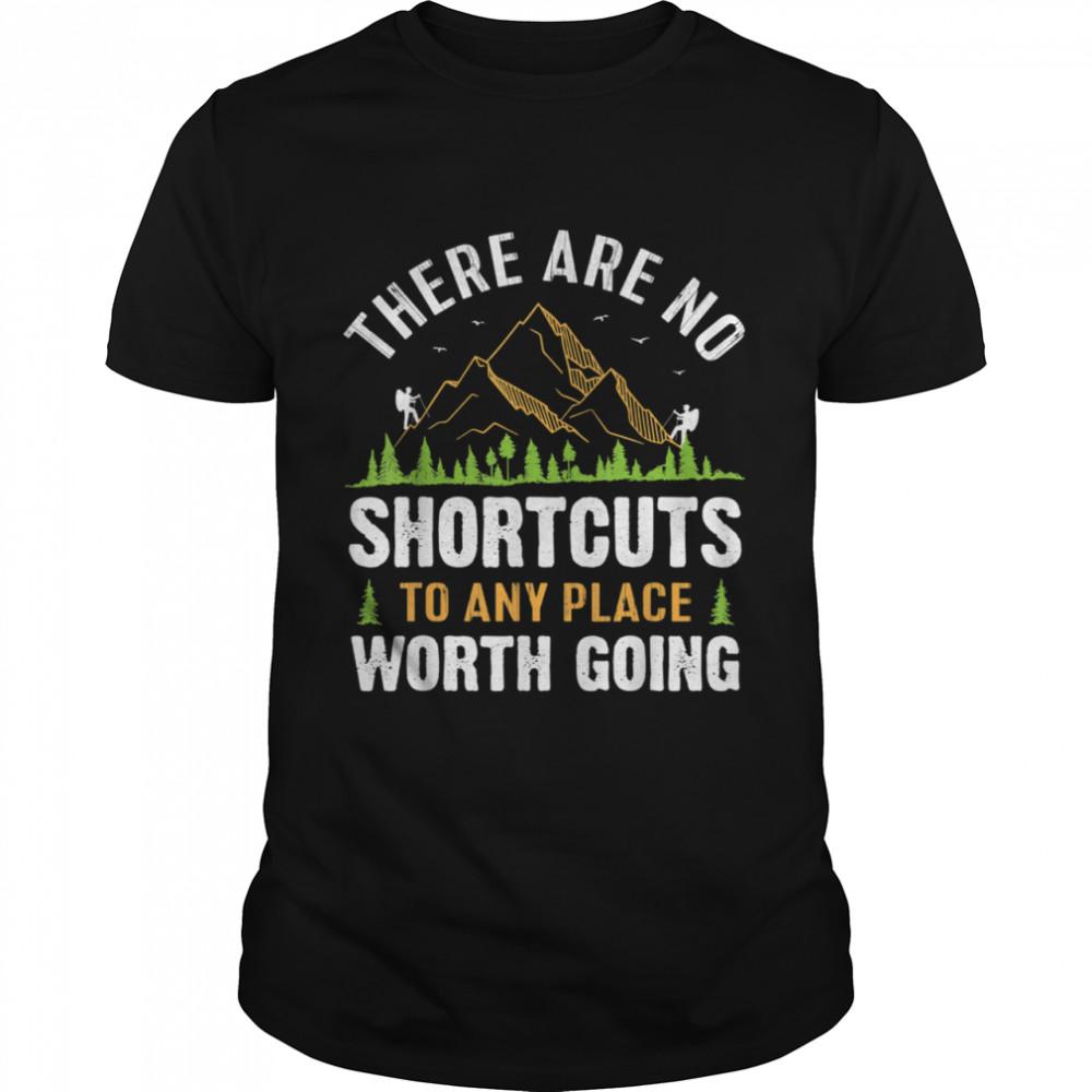 Hiking Saying Vacation Hike Mountain shirt