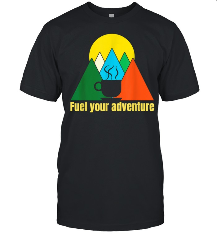 Coffee Outdoors Adventure shirt