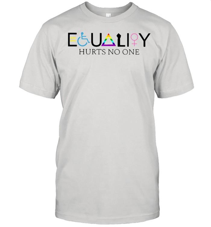 LGBT Equality Hurts No One T-shirt