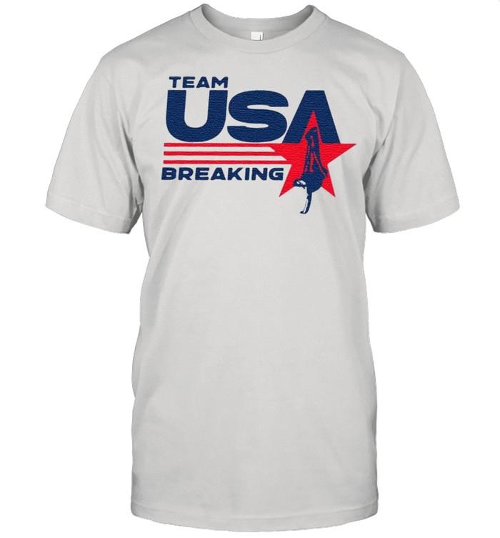 Team Us breaking shirt