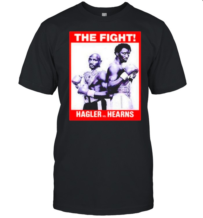 The Marvin Hagler Vs Tommy Hearns Boxing Fight shirt