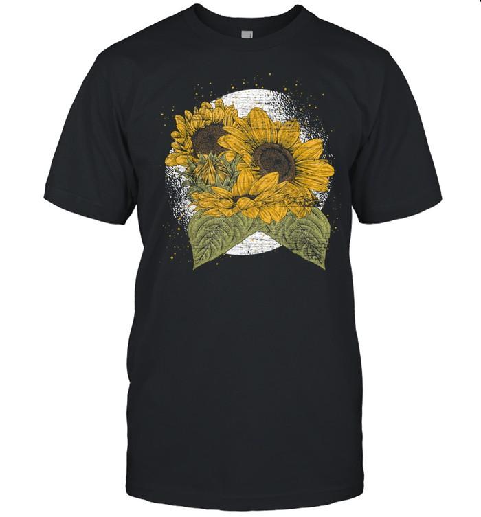 Aesthetics Yellow Flowers Florist Sunshine Sunflower shirt