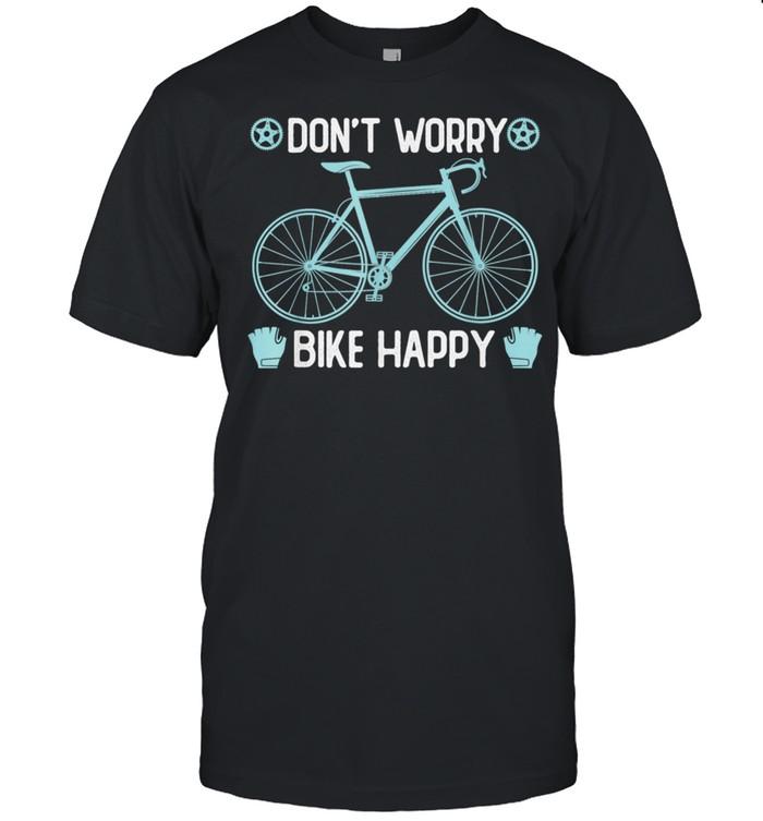 Don´t worry bike happy Fahrrad Elektrofahrrad ebike shirt