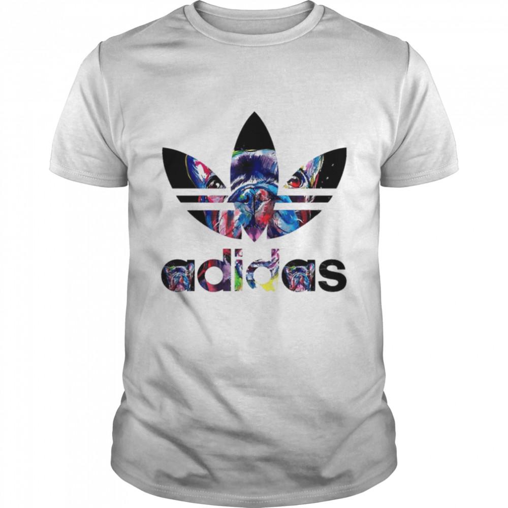 French Bulldogs With Adidas Logo shirt