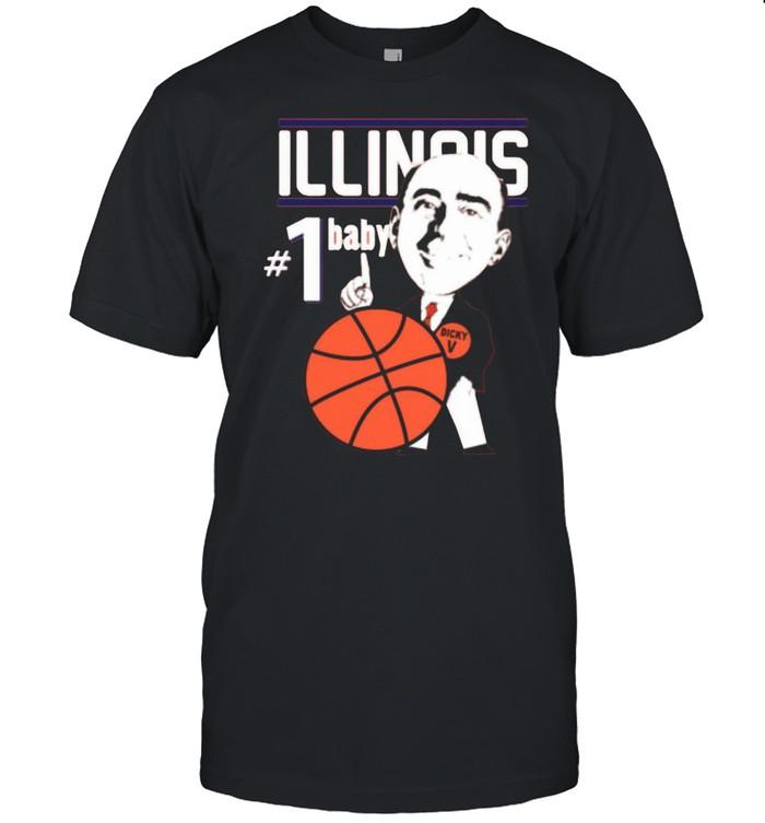 Pretty Illinois Illini University Basketball Dick Vitale 1 Baby Ncaa College Sleeveless shirt