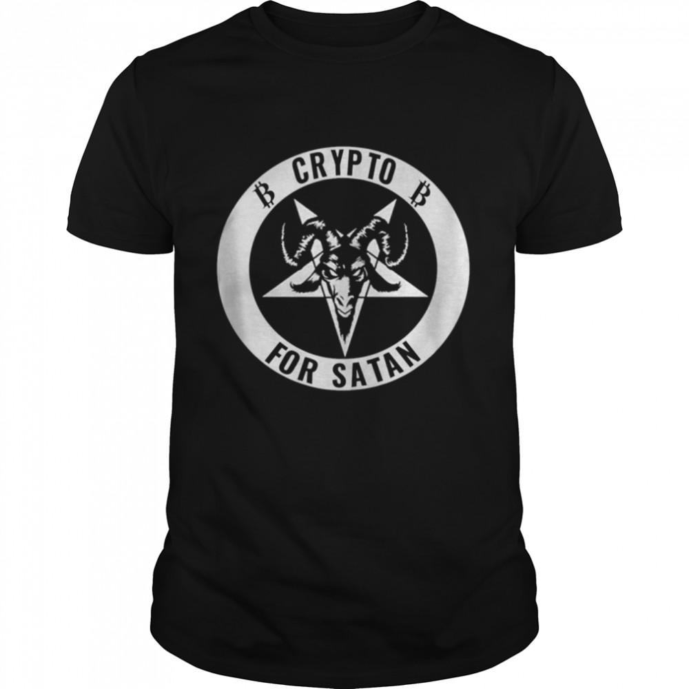 Crypto For Satan shirt