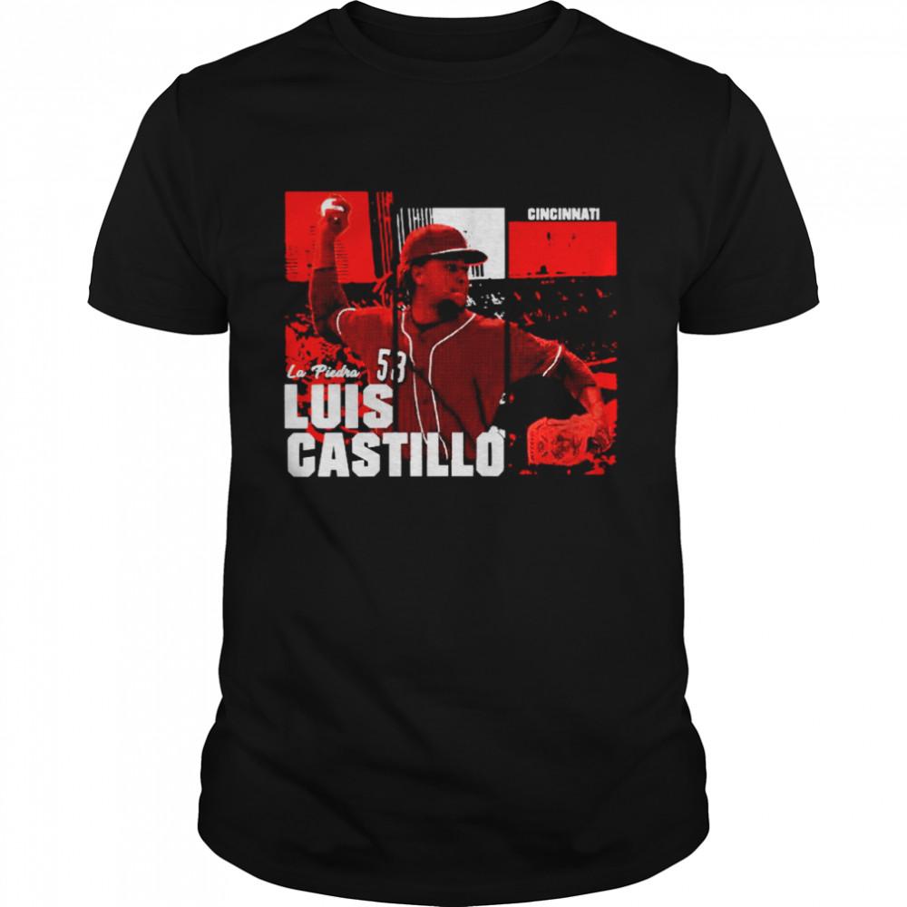 Cincinnati La Piedra Luis Castillo shirt