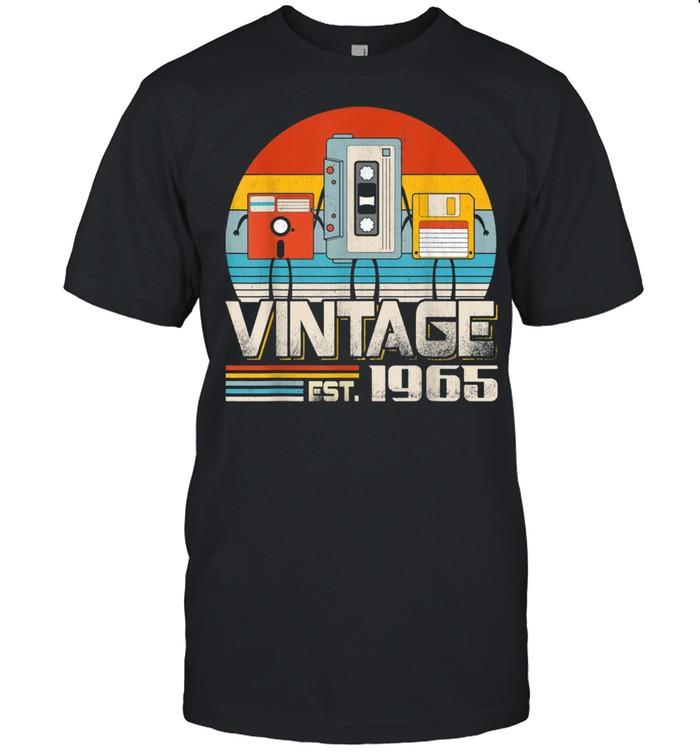 Music Tech Retro Vintage 56th Birthday 56 Years Old Shirt