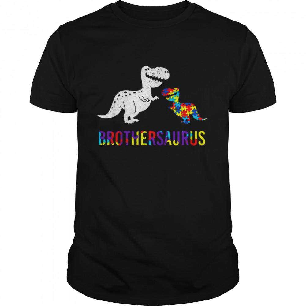 Proud Brothersaurus Autism Awareness shirt