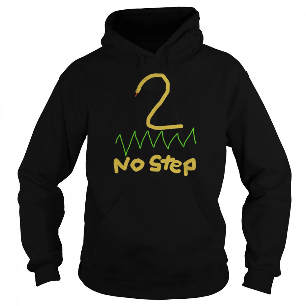 2 no step shirt Unisex Hoodie