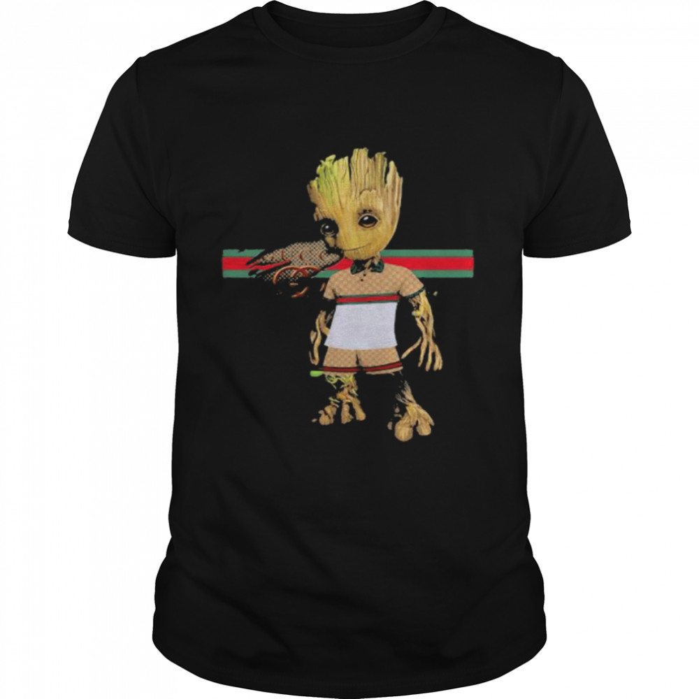 Baby Groot Wear Clothes Shirt