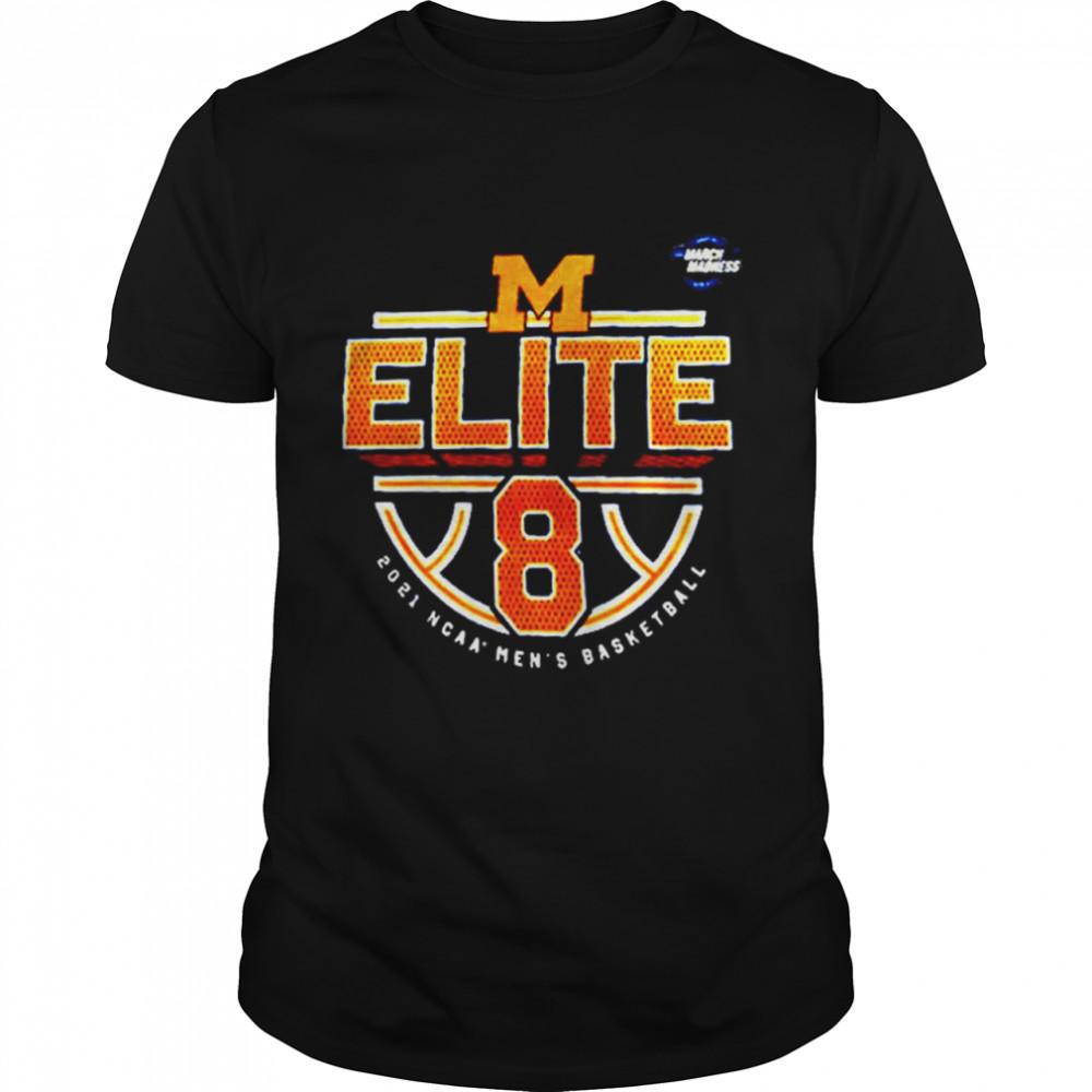 Michigan Wolverines 2021 NCAA Men's Basketball shirt