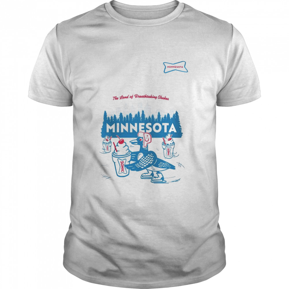 Sonic the land of breathtaking shakes Minnesota shirt