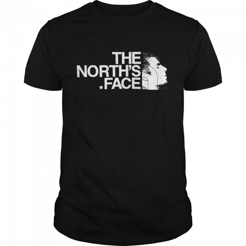 The norths face shirt