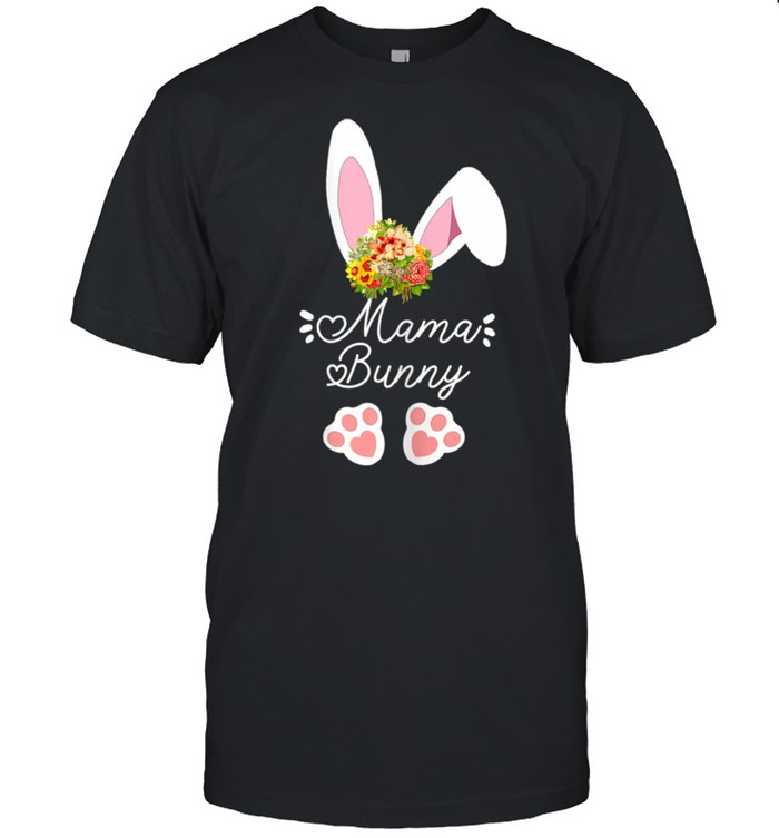 Mama matching family easter outfits easter bunny costume shirt
