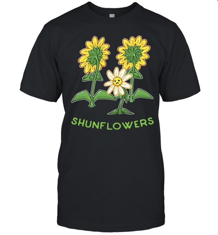 Sunflowers sad shirt