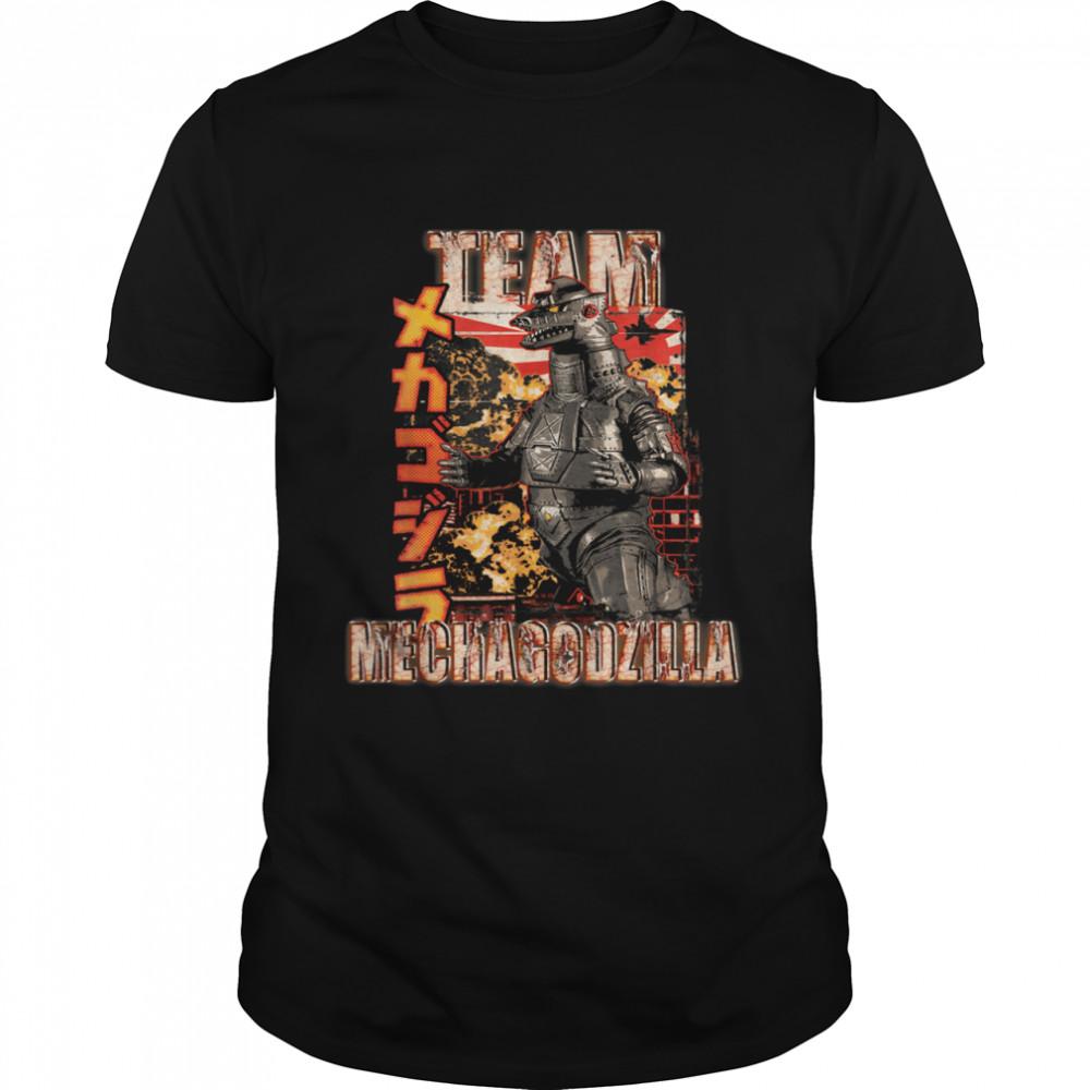 Team Mechagodzilla Japan Vintage Shirt