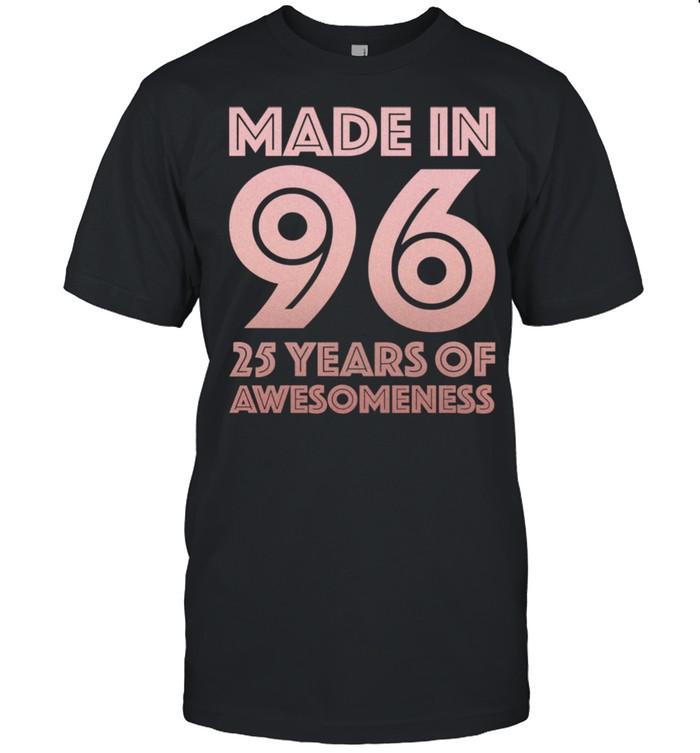 25. Geburtstag Geschenke Mann Frau 25 Jahre alter Sohn Shirt