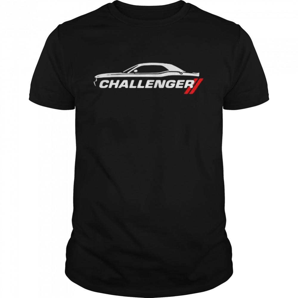 Dodge Challenger Car Shirt