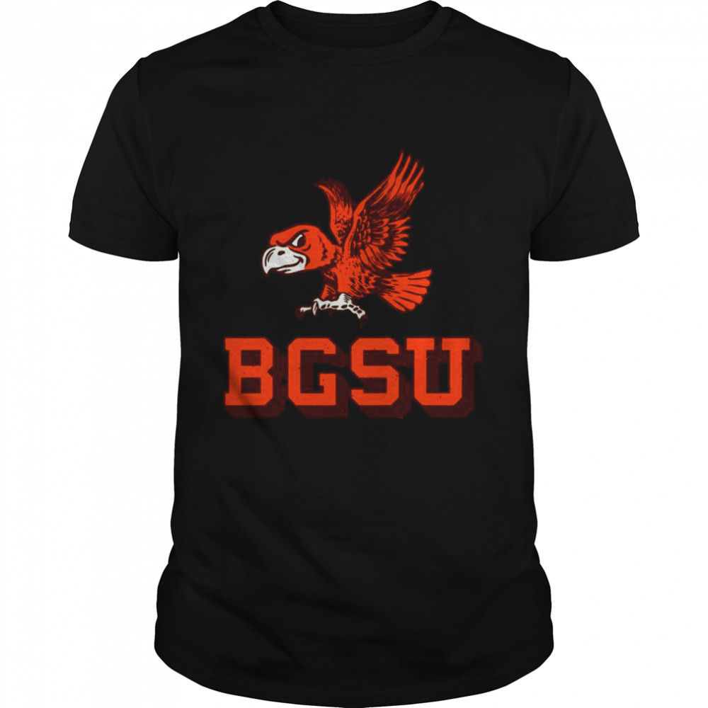 Flying Falcon Logo Bowling Green State University shirt