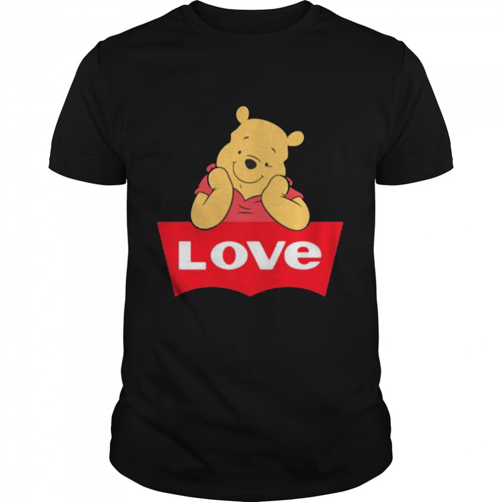 Love Pooh Bear Shirt