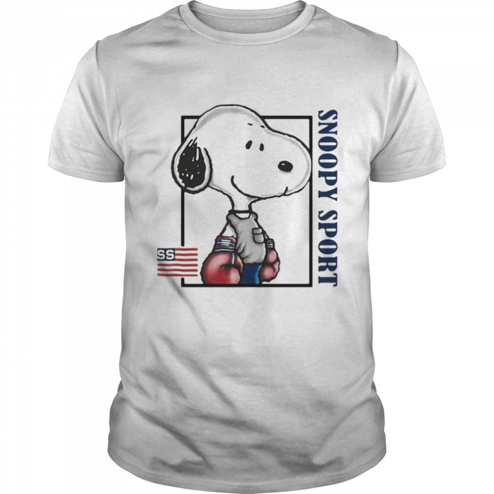 Snoopy Sport Boxing Shirt