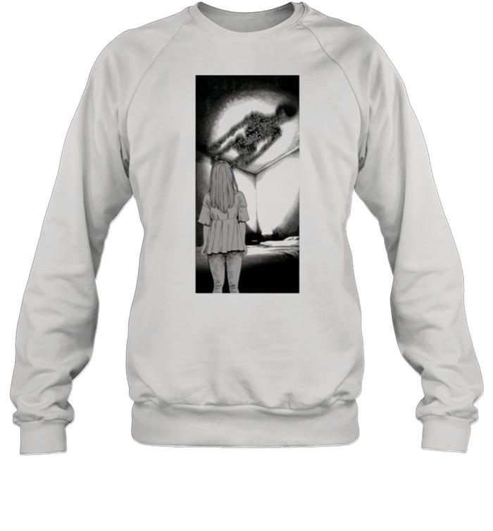Fyyaa Horror Manga Maggots shirt Unisex Sweatshirt