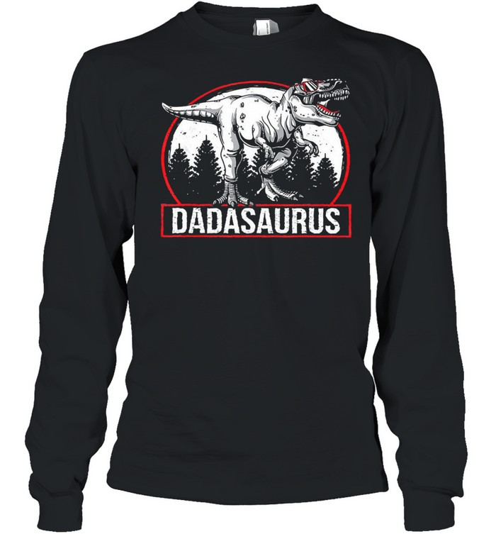Dadasaurus 2021 shirt Long Sleeved T-shirt