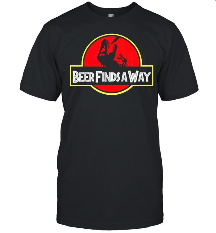 Dinosaur beer finds away shirt