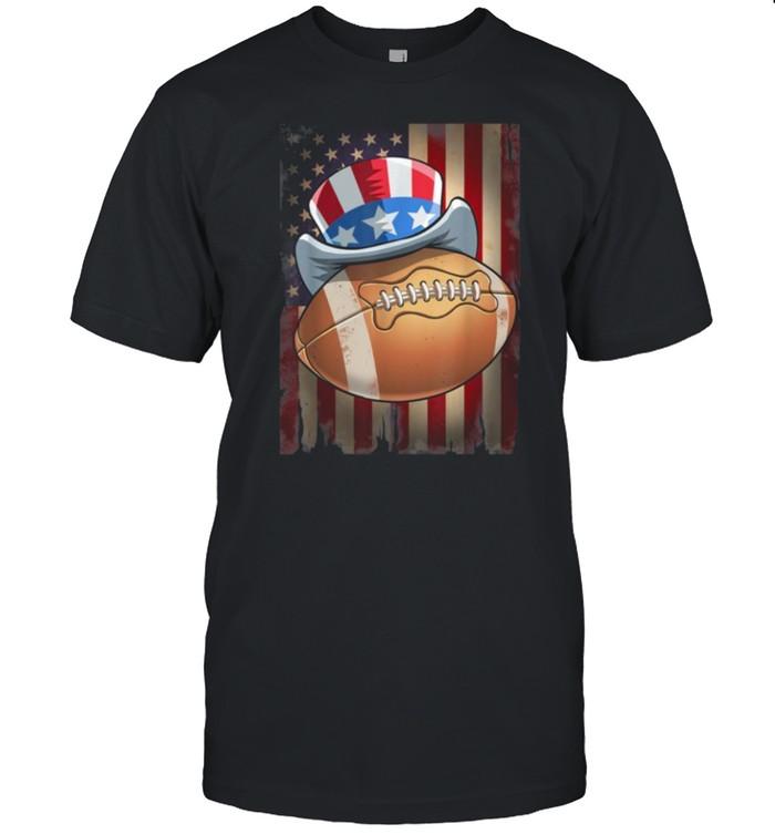 Football 4th of July shirt