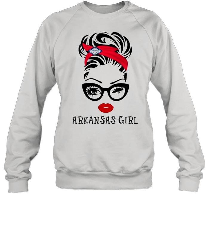 Arkansas Girl shirt Unisex Sweatshirt