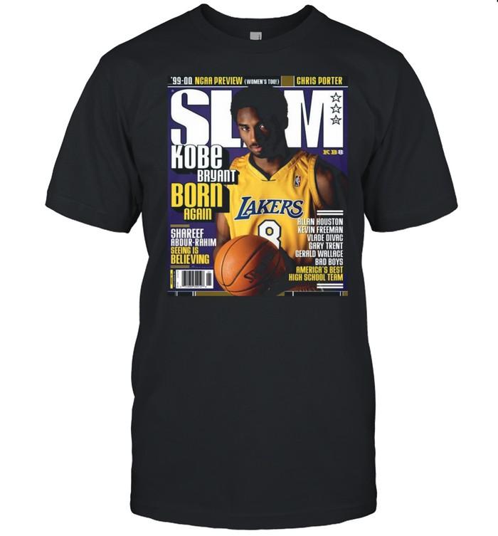 SLAM Kobe Bryant Born Again shirt