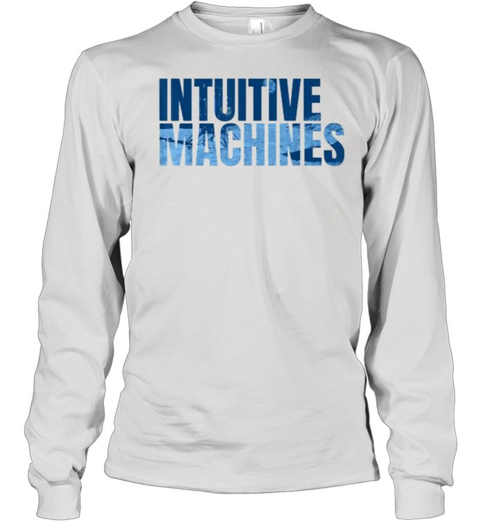 Intuitive Machines Blue  Long Sleeved T-shirt