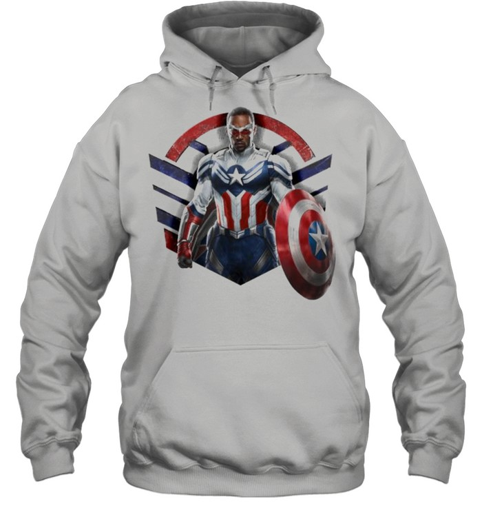 Marvel The Falcon the Winter Soldier Captain America Strong  Unisex Hoodie